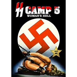 SS Camp 5 - Women's Hell (SS Lager 5) [VHS Retro Style DVD] 1977