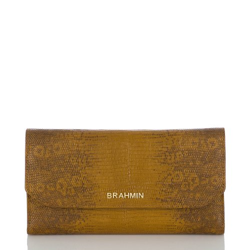 Soft Checkbook Wallet<br>Fashion Lizard