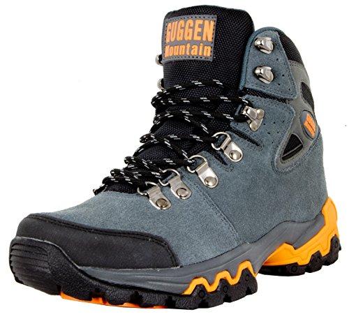 GUGGEN MOUNTAIN Scarpe da escursionismo Scarpe da trekking Scarpe da montagna Mountain Shoe uomo Grigio EU 44