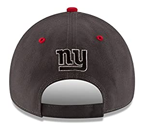 "York Giants Era 9Forty NFL ""The League Shadow"" Adjustable Hat Hut by New Era"