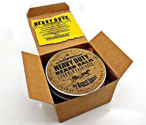honest amish heavy duty beard balm new large 4 oz twist tin grow beard fast. Black Bedroom Furniture Sets. Home Design Ideas