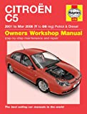 Citroen C5 Haynes Repair Manual Haynes Manual Service Manual Workshop Manual 2001-2008