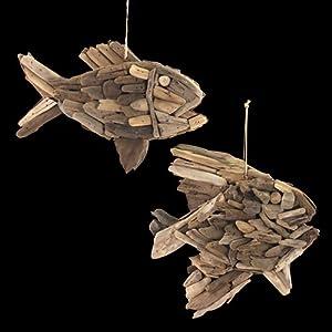 Signes grimalt 2 oggetti decorativi da appendere pesce for Oggetti decorativi casa
