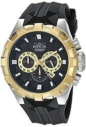 Invicta Men's 16919SYB I-Force Analog Display Quartz Black Watch