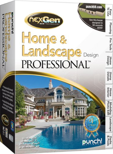 Home landscape design professional with nexgen for Punch home landscape design with nexgen technology