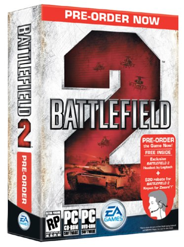 Battlefield 2 Logitech Headset [See Instructions Below To Get This Item Free With Purchase Of Game] - Pc
