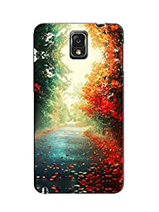 Print Tech back cover for Samsung galaxy note3