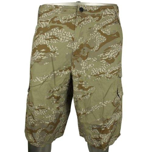 Mens Nike Jordan Cotton Chino Casual Short Cargo Camo Shorts Waist Size w38