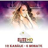EliteHD: Redlight/Hustler HD Karte 6 Monate 3 HD + 10 SD Kanäle Viaccess