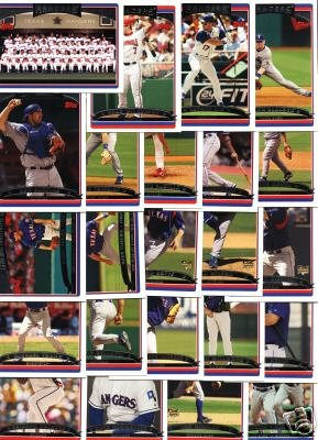 Buy 2006 Topps Texas Rangers Baseball Cards Complete Team Set (23 cards)