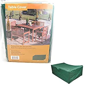 6 Seat Rectangular Patio Table Cover Tablecover Large 80''L 40'W 27''H Rain Dust