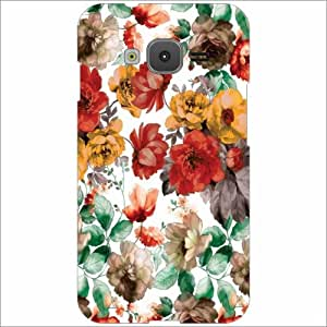 Samsung Z1 Back Cover - Floral Desiner Cases