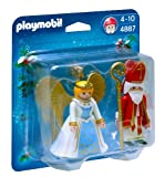 Playmobil Christmas 4887 St Nicholas and Angel