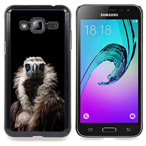 - Condor Bird Black Vulture Nature Feather/ Copertura dura Snap On Cell Phone - Cao - For Samsung Galaxy J3