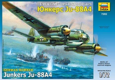 Zvezda - Z7282 - Maquette - Junkers JU88A-4 - Echelle 1:72