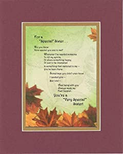 Amazon Com Touching And Heartfelt Poem For Sisters For
