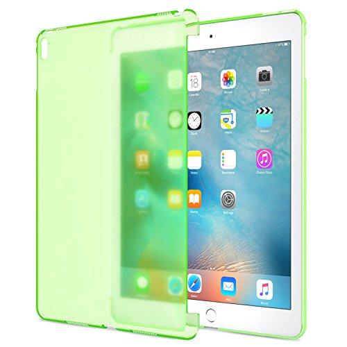 ATiC iPad Pro 9.7インチ専用 半透明PC製ケース 公式キーボードコンパチ Frost GREEN