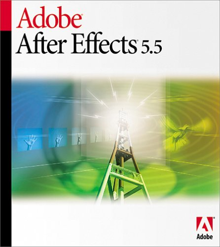 Adobe After Effects 5.5 Standard Upgrade From 5.0 Standard