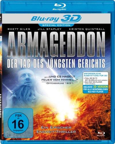 Armageddon - Der Tag des jüngsten Gerichts [3D Blu-ray] [Special Edition]