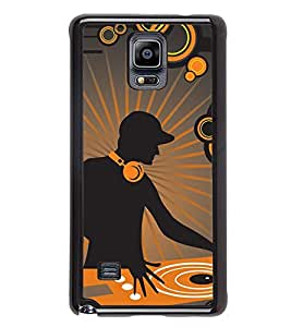 Vizagbeats Dj Music Back Case Cover For Samsung Galaxy Note4