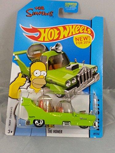 Hot Wheels The Homer! Homer Simpson Car