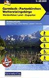 Outdoorkarte 03. Garmisch-Partenkirchen 1 : 35.000: Wettersteingebirge
