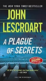 A Plague of Secrets   [PLAGUE OF SECRETS] [Mass Market Paperback]