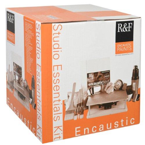 R&F Encuastic Paints Studio Essentials Kit (Encaustic Supplies compare prices)