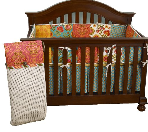 Cotton Tale Designs Gypsy 4 Piece Crib Bedding Set - 1