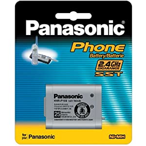 PANASONIC HHR-P103 Replacement Rechargeable Battery