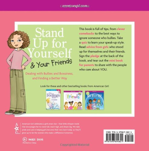 Stand Up for Yourself & Your Friends (American Girl Library)