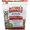 Nature's Miracle Odor Control Corn Cob Clumping Cat Litter, 10 lbs (5310)