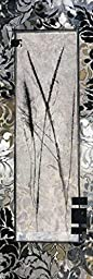 12W x 36H Damask II by Connie Tunick - Stretched Canvas w/ BRUSHSTROKES