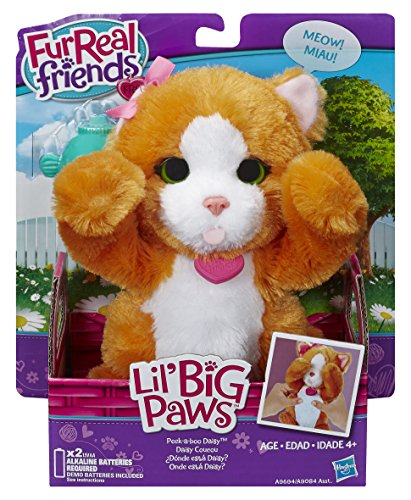 Hasbro B4494360 - FurReal Friends, Cagnolino di peluche Lil, modello assortito