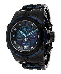 Invicta Men's 16002BWB Jason Taylor Analog Display Swiss Quartz Black Watch