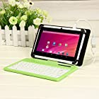 Masione™ 7 Inch Tablets Keyboard Cover Case for Samsung Galaxy Tab 3 8.0 & Samsung Galaxy Tab Pro