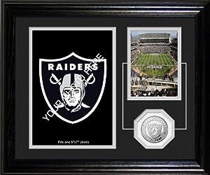 NFL Oakland Raiders Fan Memories Desktop Photo Mint by Highland Mint