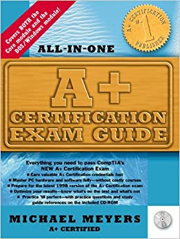 a certification exam guide michael meyers 9780079137654