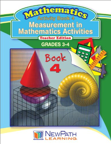 NewPath Learning Measurement in Math Series Reproducible Workbook, Grade 3-4