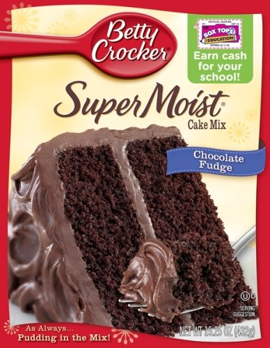 Betty Crocker Super Moist Chocolate Fudge Cake Recipe