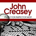 Puzzle for Inspector West: Inspector West, Book 12