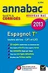 Annales Annabac 2013 Espagnol Tle LV1...