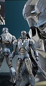 【ムービー・マスターピース】『アイアンマン3』アイアンマン・マーク40(ショットガン) 1/6スケール プラスチック製 塗装済み可動フィギュア