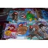 Ty Teenie Beanie 1999 McDonalds Happy Meal Toys Complete Set