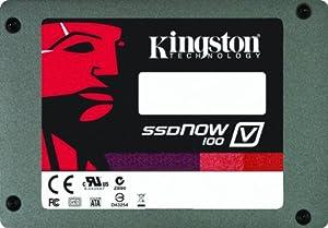Kingston SSDNow V100 SATA 3.0 Gb-s 2.5-Inch Solid State Drive (SV100S2/32G)