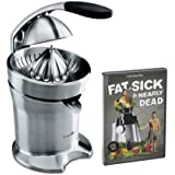 Breville 800CPXL Stainless-Steel Motorized Citrus Press with DVD