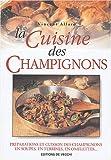 echange, troc Vincent Allard - La cuisine des champignons