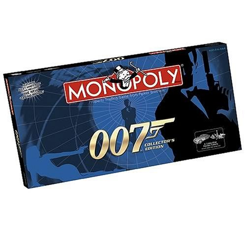 James Bond 007 Monopoly (Monopoly British compare prices)