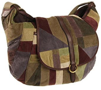 Lucky Brand Women's HKRU1273 Messenger Bag,Green Multi,One Size