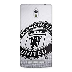 Special Grey MU Team Back Case Cover for Oppo Find 7